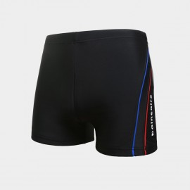 Balneaire Trimmed on Side Black Shorts (50151)