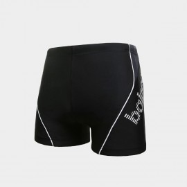 Balneaire Trimmed Both Sides Black Shorts (50152)