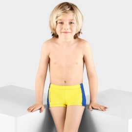 Balneaire Comfortable Striped Boy Yellow Shorts (250003)