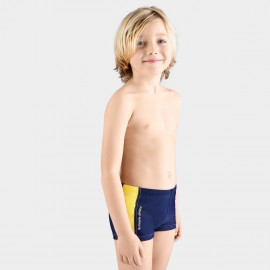 Balneaire Comfortable Striped Boy Navy Shorts (250007)