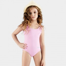 Balneaire Simple Girly Pink One Piece (260002)