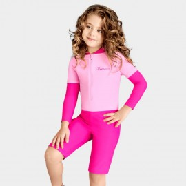 Balneaire Comfortable Elastic Girl Rose One Piece (260009-1)