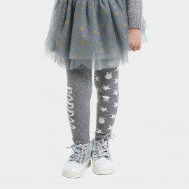 Bobdog Patterned Grey Pants (B43BK804)