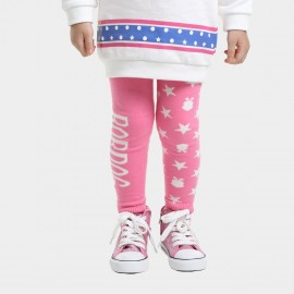 Bobdog Patterned Pink Pants (B43BK804)