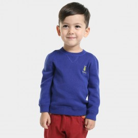 Bobdog Plain Blue Sweater (B43ZS905)