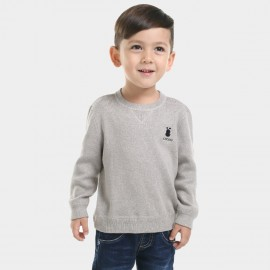 Bobdog Plain Grey Sweater (B43ZS905)