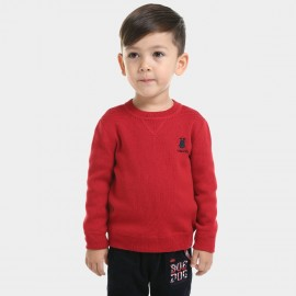 Bobdog Plain Red Sweater (B43ZS905)