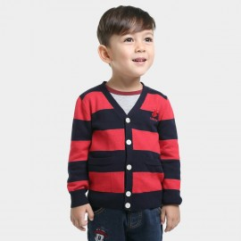 Bobdog Striped Navy Cardigan (B43ZS923)