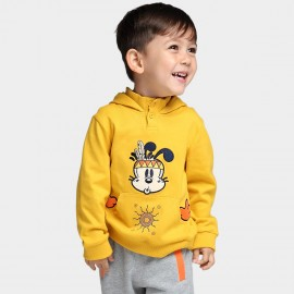 Bobdog High Neck Yellow Hoodie (B43ZW205)