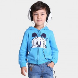 Bobdog Zip Through Blue Hoodie (B43ZW503)