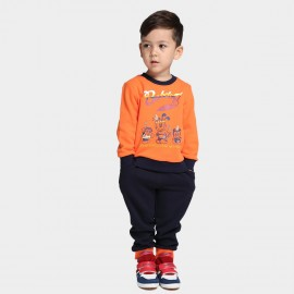 Bobdog Sweatshirt Orange Set (B43ZZ207)