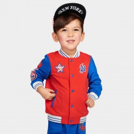 Bobdog Baseball Red Jacket (B51ZW401)
