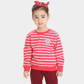 Bobdog Striped Red Sweater (B53ZE341)