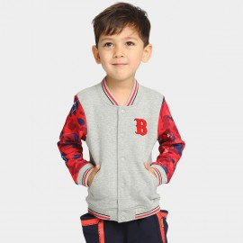 Bobdog Baseball Grey Jacket (B53ZW206)
