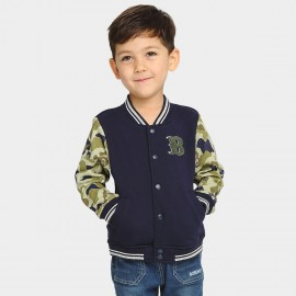 Bobdog Baseball Navy Jacket (B53ZW206)