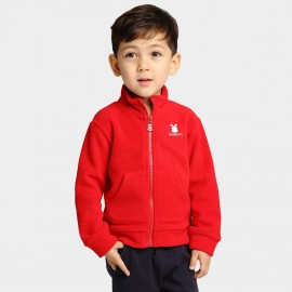 Bobdog Polyester Red Jacket (B53ZW351)