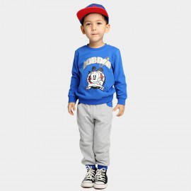 Bobdog Sweatshirt Blue Set (B54ZZ380)