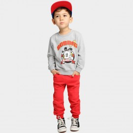 Bobdog Sweatshirt Grey Set (B54ZZ380)