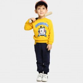 Bobdog Sweatshirt Yellow Set (B54ZZ380)