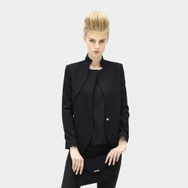 Cocobella Double Collar Black Jacket (CT208)