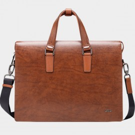 BVP Classic Brown Briefcase (T1002)