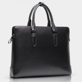 BVP Slim Black Briefcase (T1004)
