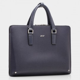 BVP Slim Blue Briefcase (T1005)