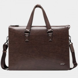 BVP Antique Brown Briefcase (T1008)
