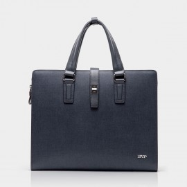 BVP Blue Briefcase with Clutch (T1012)