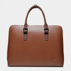 BVP Slim Brown Briefcase (T1013)