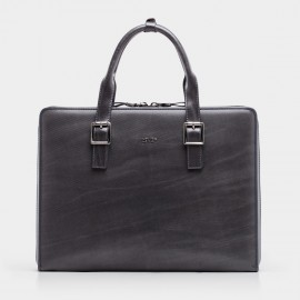 BVP Contemporary Grey Briefcase (T1017)