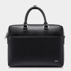 BVP Classic Traveling Black Briefcase (T1029)