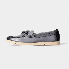 Herilios Bubbles Tassel Blue Loafers (H5105D05)