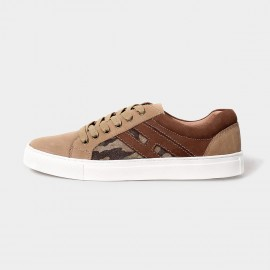 Herilios Camouflage Casual Apricot Sneakers (H5105D33)