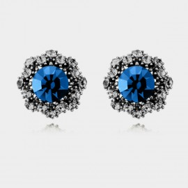 Caromay Vintage Flowers Gun Earrings (E0333)