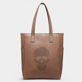 U.Life Skeleton Brown Tote (T3014U)