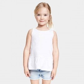 Yakuyiyi Little Dot White Top (50601T121)