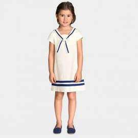 Yakuyiyi Little Sailor White Dress (50611T105)