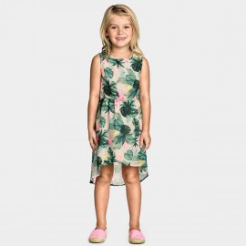 Yakuyiyi Forest Green Dress (50612T124)