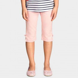Yakuyiyi Close-Fitting Pink Capris (50621T106)