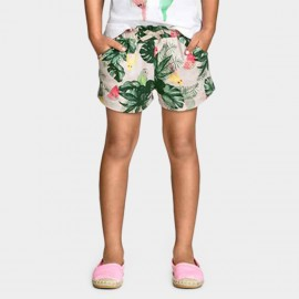 Yakuyiyi Forest Green Shorts (50621T127)