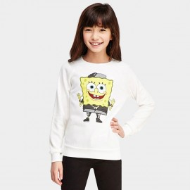 Yakuyiyi Spongebob White Sweater (50701T227)