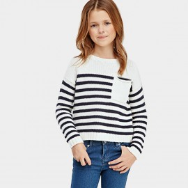 Yakuyiyi Racy Stripe Knit (50745T232)