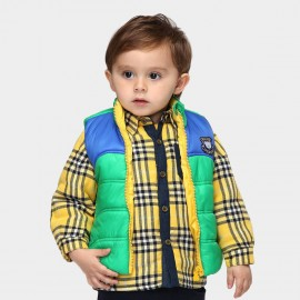 Pepevega Bear Patch Green Gilet (A34SB422)