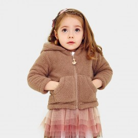 Pepevega Bear Style Thick Coffee Jacket (A53ZM907)