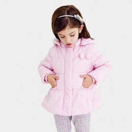 Pepevega Hooded Pink Down Jacket (A54SM412)