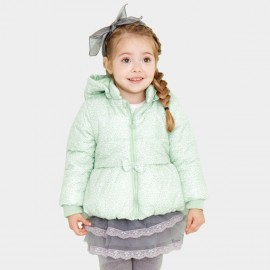 Pepevega Tiny Bow Green Down Jacket (A54SM857)
