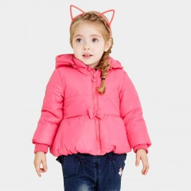 Pepevega Tiny Bow Red Down Jacket (A54SM857)