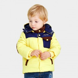 Pepevega Elbow Patch Yellow Down Jacket (A54SM865)