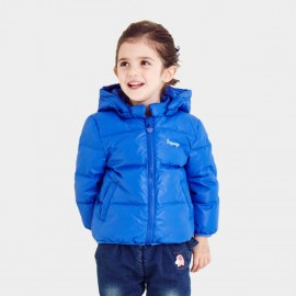 Pepevega Warm Zipper Blue Down Jacket (A54SU860)